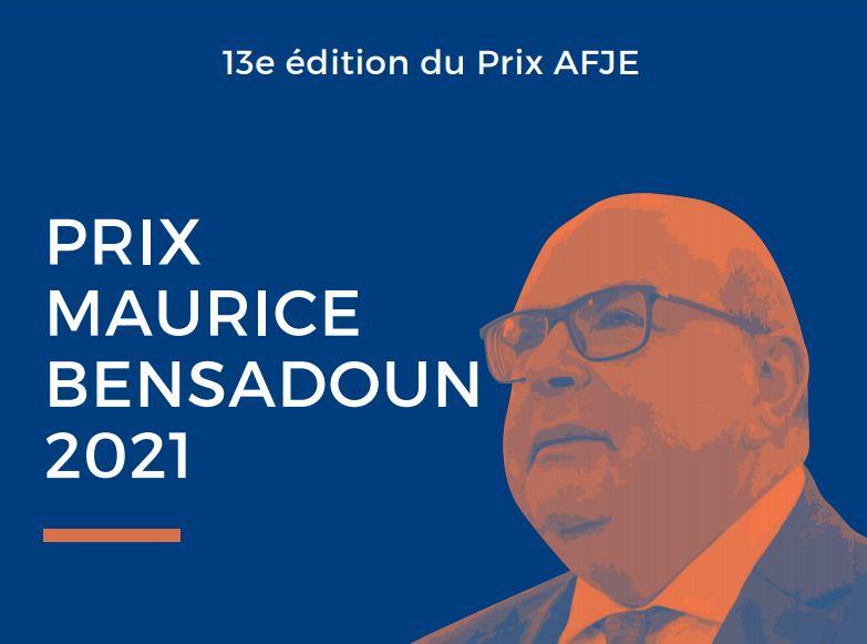 13e Prix AFJE M. Bensadoun 2021