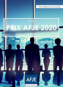 Prix AFJE 2020
